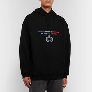 dropship Klasik Taç Nakış Kapşonlu Sweatshirt Erkekler Kadınlar Sokak Kazak Sonbahar Kış Triko Dış Giyim HFYMWY284 hoodies