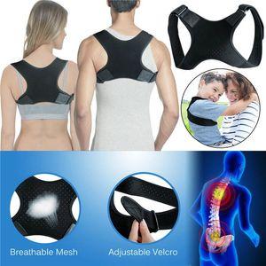 Spine postura correttore Proteggere la schiena e le spalle Postura cintura correzione Hump mal di schiena sostegno sollievo ortesi