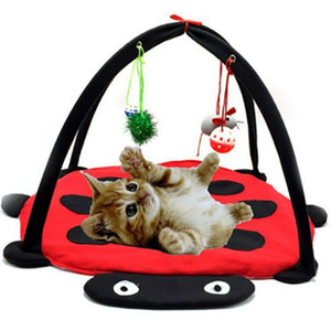 Tent Red Beetle Fun Cat Sino Toy Cat Toy Hammock Pet Litter Home Goods Cat House