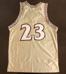 Cheap Rare Florida State University Nk Vintage James Collins # 23 Vest Jersey Homens XS-5XL.6XL camisa de basquete costurado jerseys NCAA Retro