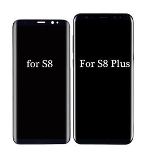 LCD original para Samsung Galaxy S8 del LCD para la galaxia S8 además G950 G950F G955fd G955F G955 Con Burn Sombra Con la pantalla táctil de Digitalización