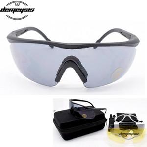 Männer Frauen Taktische Gläser Anti-UV Komfortable Armee Jagd Gläser Outdoor Sports Wandern Angeln Radfahren Schießen Eyewears