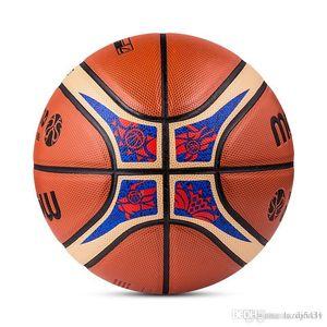Molten FIBA Basketball Chine 2019 Qualif taille de basket-ball 7 motif dragon PU match de basket-ball balle GP7X-Q7Z 22