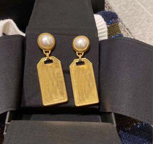 Avere francobolli Top Brand Designer Orecchini per Lady Donne Party Wedding Lovers Regalo di fidanzamento gioielli di lusso per la sposa con scatola LZ0