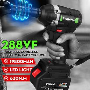 Dreamburgo 2020 630n.m chave elétrica chave sem fio de impacto sem fio 3000RPM Ratchet Driver 19800mAh Battery Hand Tools