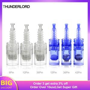 attoo Needles 10 20 50pcs Bayonet Microneedling Nano Pin Microneedle Tattoo Needles For Derma Pen Skin Mesotherapy Permanent Makeup Suppl...