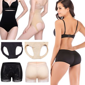 FLORATA Venta Caliente de Las Mujeres Butt Lift Shaper Butt Lifter Body Shapers Bragas de Control Transpirable Shapewear Bragas de Fondo Adelgazante