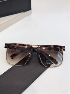 Gafas de sol populares de moda clásico de calidad superior marco cuadrado sencillo y generoso gafas de protección estilo 9072 con la caja