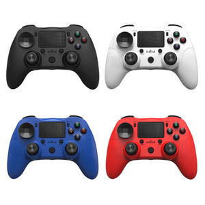 Wireless Bluetooth Gamepad 6-Achsen-Kopfhörerbuchse Dual-Vibration BT4.0 Game Controller Joystick für PS4 / Android / Computer Connect