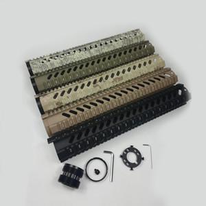 15 인치 무료 플로트 쿼드 레일 총열 덮개는 0.223 / 5.56에 적합
