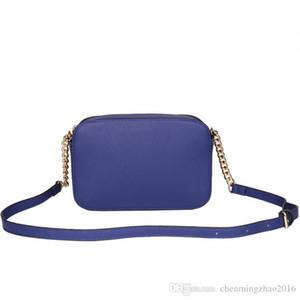 Бесплатная доставка 2019 новая мода сумки дамы сумка продвижение плеча повседневная цепь небольшой квадратный мешок 23*10*16