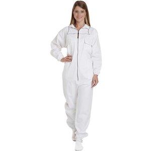 Weiß Anti-Bee Coat Bienenzucht Tools Professional Schutzkleidung Bienenzucht Anzug Bienenzucht Kleidung, Ausrüstung, XL / XXL / XXXL