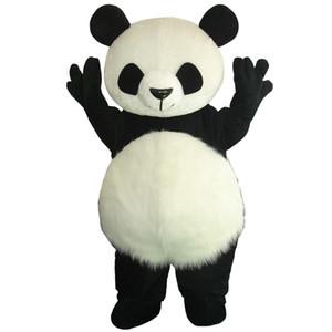 Heißes verkaufendes Großhandelsneues Versions-chinesisches Panda-Maskottchen-Kostüm-Weihnachtsmaskottchen-Kostüm Freies Verschiffen