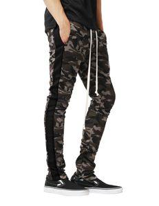 E-BAIHUI Mens Jogger printemps crayon Sarouel Hommes Camouflage Pantalon Militaire Lâche Confortable Pantalon Cargo Camo Joggers A630