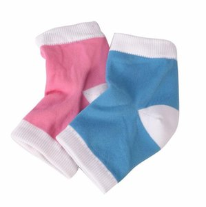 Gel Heel Socks Moisturizing Spa Gel Socks Feet Care Cracked Foot Dry Hard Skin Protector Heel Support Hot Sale Lx3872