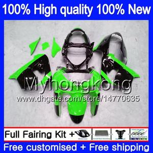 Cuerpo para Kawasaki ZX900 ZX9 R ZX 9R 1998 1999 2000 2001 220MY.0 900cc ZX 9 R 900 ZX9R 98-99 ZX9R 98 99 00 01 del carenado del ABS kit negro verde