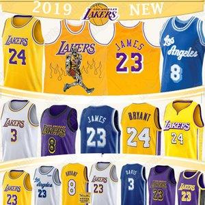 LeBron James 23 Jersey NCAA Anthony 3 Davis 2020 neue Basketball-Trikots heißen Verkauf Basketball-Shorts