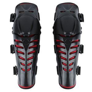 Nouveau 2pcs De Protection Genouillère Engrenages Moto Genouillère Protecteur Sports de Plein Air Scooter Motor-Racing Gardes Sécurité Protecteur