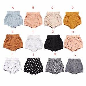 Newborn Toddler Kids Baby Boy Girl Cotton Bottom Infant Bloomer Briefs Diaper Cover Panties Summer Cute Shorts A19
