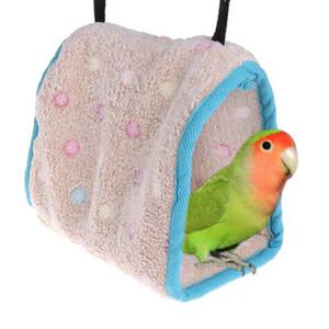 Kuşlar Nest Parrot Hamak Pet Asma Yataklı Kış Sıcak Asma Yatak
