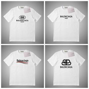 Luxo Verão Camiseta Letter Moda Imprimir Mens Designers Camiseta manga curta Homens Mulheres Alta Qualidade Tees Casual # 89561