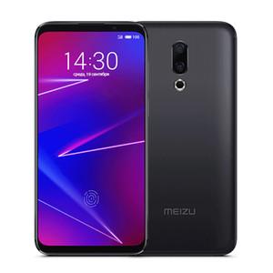Original del teléfono Meizu 16 Plus 4G LTE teléfono celular de 6 GB de RAM 128 GB ROM Snapdragon 845 Octa Core Android 6.5 pulgadas 20MP de huellas dactilares de identificación móvil elegante