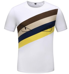 New designer quality cotton fendl short-sleeved T-shirt brand mens   womens luxury T-shirt fashion style sports T-shirt