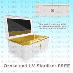 MOYEAH Taşınabilir Dezenfektanı CPAP Temizleyici Malzemeleri Ozon Ücretsiz UV CPAP Maskesi ve Hava Tüpleri Makinesi için Tüp Solunum
