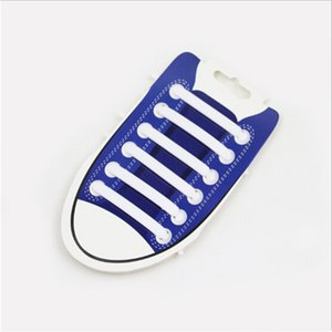 12pcs Lazy Elastic Silicone No Tie Shoelaces Silicone Running Sneakers Strings Shoe Lace Strap Shoes Accessories