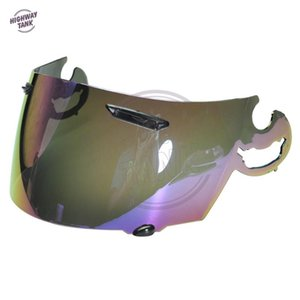 new 1 PCS Iridium Motorcycle Full Face Helmet Visor Lens Case for ARAI RR4 Visor Mask