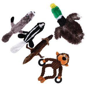 5 Pcs Funny Soft Pet Puppy Chew Play Squeaker Squeaky Sound For Dog Toys