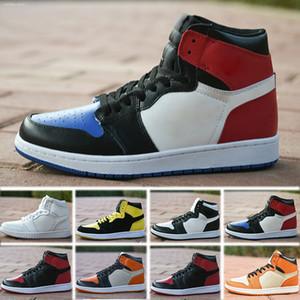 Nike Air Jordan 1 Горячая 1 мужская баскетбольная обувь High OG In The Game Track Red Royal 1s Top 3 Новичок года многоцветные кроссовки