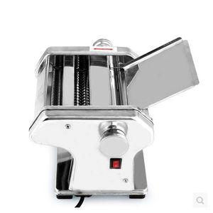 Elétrica Noodle Press Machine Spaghetti Pasta Criador comercial aço inoxidável Massa Cortador Dumplings rolo Noodles Hanger