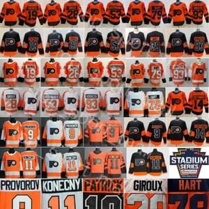 Flyers de Philadelphie Jersey Claude Giroux Travis Konecny Ivan Provorov Carter Hart Jakub Voracek Sean Couturier Oskar Lindblom Nolan Patrick
