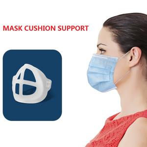 3D Máscara facial desechable máscara interior Soporte Soporte respiración Assist Ayuda interior del cojín del soporte Holder máscara transpirable Válvula
