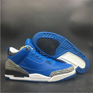 Hot Sale Custom III Blue Collaboration Khaled Fashion Trainers New Another One 3s Designer Hyper Royal We The Best Sneakers Good Quality