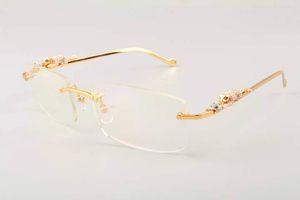 2019 novo ultra leves templo leopardo quadrado diamante ouro óculos 6384083-1 modelos de moda óculos de sol dos homens, pára-sol