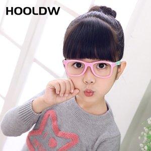 أطفال Holdw Vintage Kids LOOKS TR90 Silicone Vocal Frame Children Eyeglasses Boy Girl Computer Baby Baby Computer Transparent Eyewears