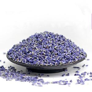 100g Natürliche Lavendel Trockenblumen Samen Getrocknete Blumen-Korn-Groß Lavendel Kornfüllung Reale natürliche dauerhafte Lavend QW273
