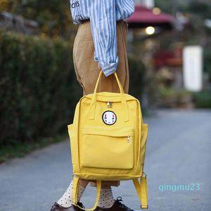 Дизайнер-женщина Холст Рюкзаки школьные сумки для подростков девочек черного Смазливой школы Рюкзаков Наплечных сумок Famale книга рюкзака