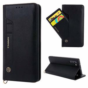 Para Samsung Galaxy Note 10 Wallet Case Premium PU Leather Flip Book Style Cash Holder Funda para Samung Note 10 Plus S10 S9 Funda