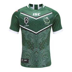 Maorí Todas las Estrellas 2020 de los hombres de camisa casera Rugby Jersey Maillot Camiseta Maglia Tops S-5XL Camisas Kit