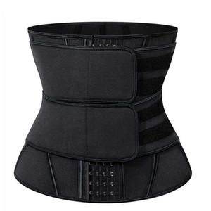 Shapewear Waist Trainer Tummy Belt Cincher Corset Build-In 4 Hooks 13 Steel Bonds Postpartum Recovery Pregnant Women Strap Firm Slimming