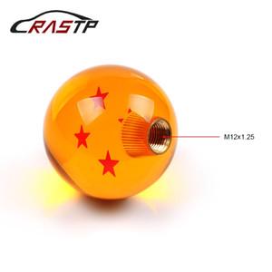 RASTP-Dragon Ball 4 Star Gear Shift Knobs Racing Stick Fresco Manopola pomello a sfera in acrilico per accessori auto universale RS-SFN042