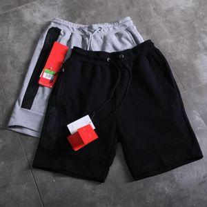 nike de jogging hommes fermeture à glissière supérieure classique de marque de qualité d'impression en trois dimensions short en coton stretch haut de pantalon décontracté