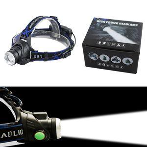 Q5 T6 фара фара Увеличить водонепроницаемую 18650 аккумуляторной батареи водить головную лампу велосипед кемпинга Туризм супер яркий свет