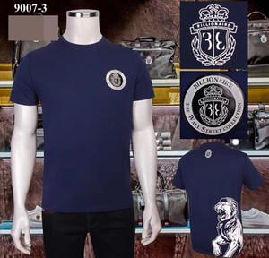 2020 лето мода футболки мужчин хлопка одежды бутик футболки миллиардер мужской рубашки летом с коротким рукавом размер Бесплатная доставка M ~ XXXXL