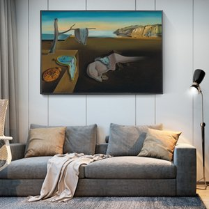 The Persistence of Memory By Salvador Dali Canvas Paintings On The Wall Art Posters Wall Art for Living Room Home Decor (No Frame)