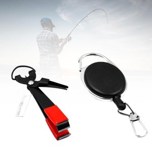 Creative Fishing Quick Knot Tool Fast Knotter Line Clipper with Retractable Key Chain Men Key Holder Trinket Gift