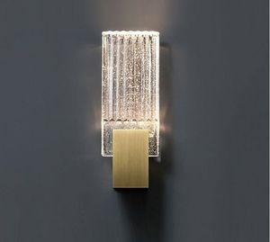 Free shipping Modern minimalist living room crystal wall light American art bedside study designer wall lamp LLFA